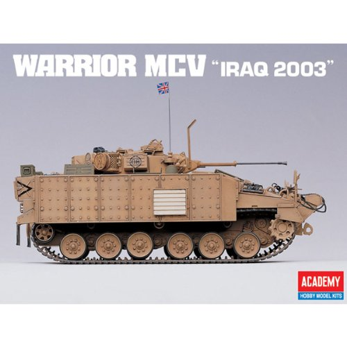 Academy Warrior MCV 'Iraq 2003' Military Land Vehicle Model Building Kit by Academy Models (Image #4)