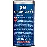 The Republic of Tea Get Some ZZZ's Herbal Tea For Rest, Gourmet Rooibos Red Tea, 36 Tea Bag Tin