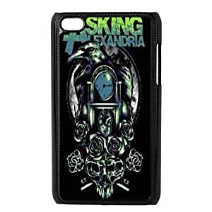 Personalized Asking Alexandria Ipod Touch 4 Case, Asking Alexandria Customized Case for iPod Touch4 at Lzzcase