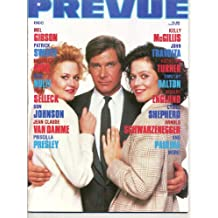 Prevue Magazine HARRISON FORD Jean Claude Van Damme PATRICK SWAYZE Don Johnson PAULINA December/March 1989 (Mediascene Prevue)