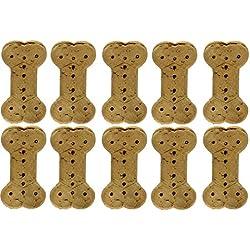 Triumph (10 Pack) Super Biscuits Dog Treat Peanut Butter