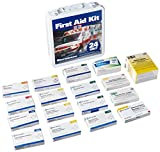 Pac-Kit by First Aid Only 5301 First Aid Kit for 30+ People, 24 Unit