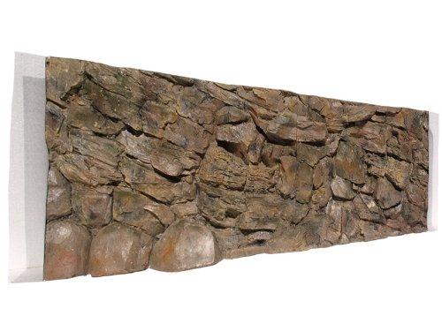 Aquarium Rückwand 3D Felsen 200x60 2-teilig bei Robizoo