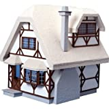 Dollhouse Miniature The Aster Cottage Dollhouse by Corona by Corona/Greenleaf Steel Rule Di