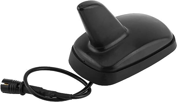 Antena de aleta de tiburón de coche, forma de aleta de tiburón, Ajuste para VW Au-di, Sko-da