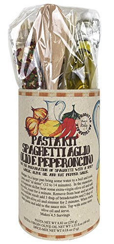 Pasta Kit - Spaghetti Oil, pepper, garlic