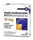 Habitrol Nicotine Transdermal System Stop Smoking Aid, Step 2 (14 mg), 14 Patches Pack of 3