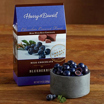 Milk Chocolate-Covered Blueberries - Gift Baskets & Fruit Baskets - Harry and David (David And Harry Gift Baskets)