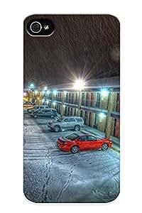 popular Fashion TrGAvNP748mwutc Design For Apple Iphone 5/5S Case Cover Case (light Snow Night Cars Storm Long Exposure popularel )