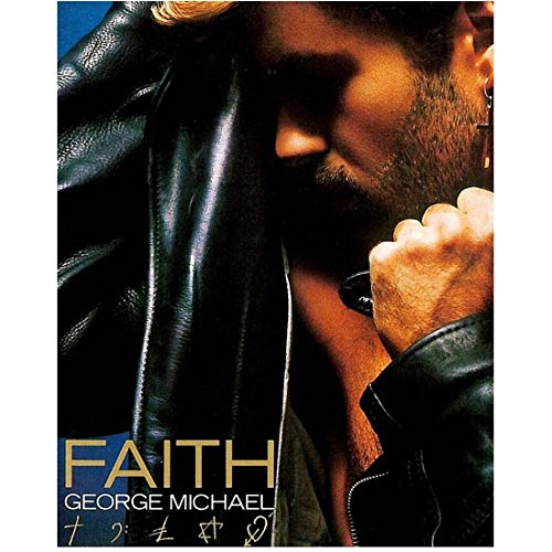 George Michael 8 inch x10 inch PHOTOGRAPH Performer & Composer Soundtrack for Deadpool Beverly Hills Cop II The Holiday CD Cover kn