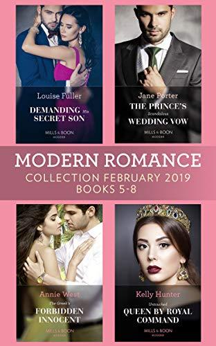 Modern Romance February 2019 Books 5 8 By Louise Fuller Kelly