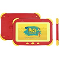 "Tablet Tela 7"" Quad Core 8GB/1GB WiFi Android, DL, Kids Adventure TX400VRM, 8GB, 7'', Vermelho, Pequeno"