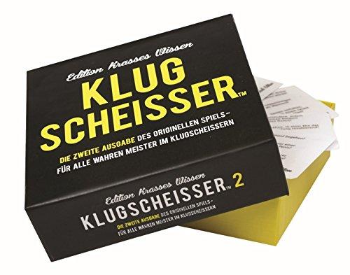 Preis am Stiel Gesellschaftsspiel ''Klugscheisser 2'' | Kartenspiel |