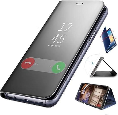 Funda Samsung S9 Plus Carcasa Espejo Mirror Flip Case Ultra ...