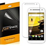 [6-Pack] SUPERSHIELDZ- Anti-Bubble High Definition Clear Screen Protector For Motorola Moto E (2nd Gen) + Lifetime Replacements Warranty- Moto E (2nd Generation) 4G LTE - Retail Packaging