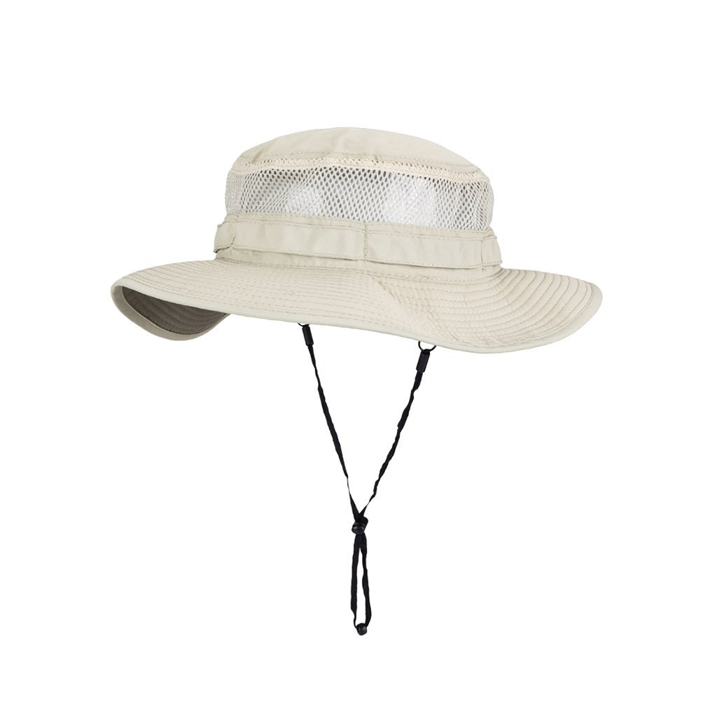 Sunny Men's Sun Hat Summer Outdoor Sun Protection Anti-UV Breathable Fishing Fisherman Hat