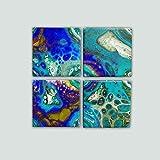 Ceramic Tiles for Crafts Coasters,12 Ceramic