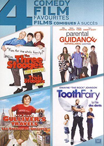 The Three Stooges / Parental Guidance / Gulliver's Travels / Tooth Fairy (4 Comedy Feature - Four Tooth