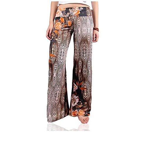 Femmes Style 11 Vintage Fashion Temps Couleur Coupe Summer Pantalon Libre Elégant Confortable Large Bobolily Spécial 76wHd7
