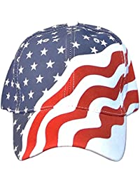 063433535a936 12 Pack American Flag Ball Cap Hat Us USA Patriotic Stars and Stripes Baseball  Cap