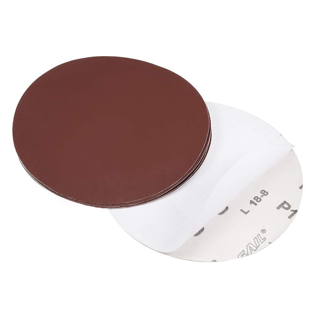uxcell 6-inch PSA Sanding Discs 1500 Grits Self Stick Adhesive Back Aluminum Oxide Sandpaper 5pcs