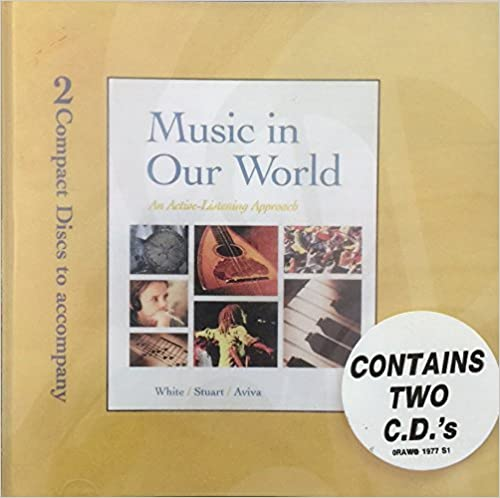 Book Compact disc set for use with Music in Our World by Gary White (2000-12-12)