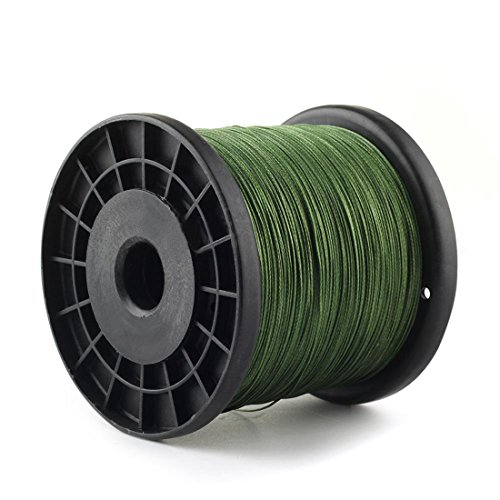 Ray-JrMALL 8 Strands 200lb 500m Braid Fishing Line Braided Pe Fishing Line Dark Green