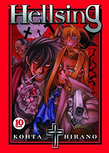 Hellsing 10 Taschenbuch – 17. Juli 2009 Kohta Hirano Panini 3866077599 Krimi & Horror