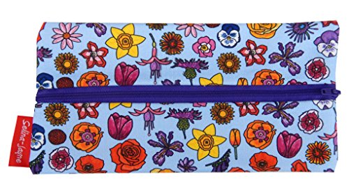(Selina-Jayne English Flowers Limited Edition Designer Pencil Case)