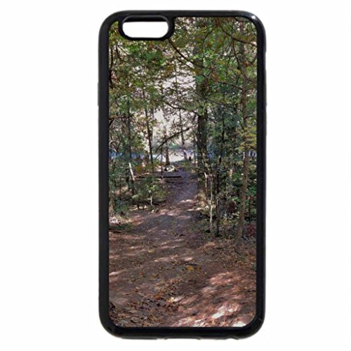 iPhone 6S / iPhone 6 Case (Black) Pathway To The River