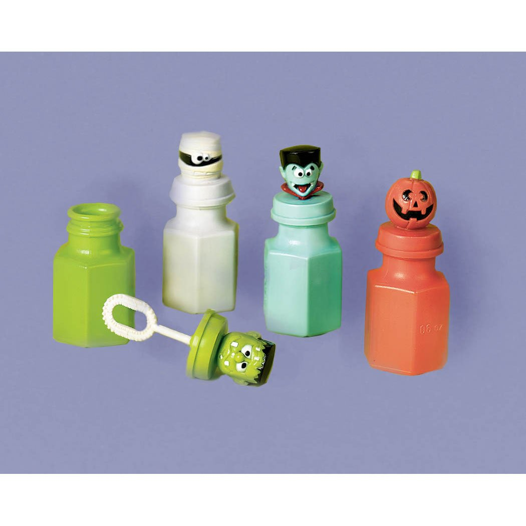 Monster Bubble Party Favors
