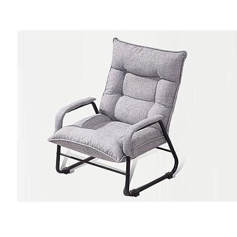 Amazon.com: EGCLJ - Sillón de lino retro – Silla de salón y ...