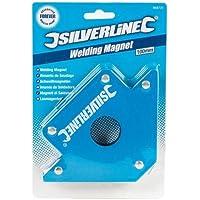Silverline 868731 Welding Magnet 100 mm