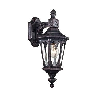 Applique Murale Exterieur Lanterne Style Rustique Vintage Antique
