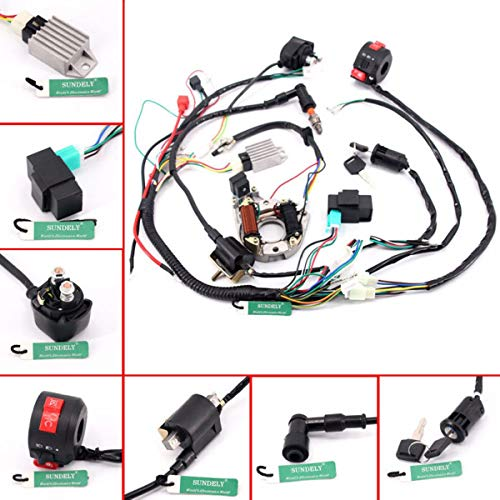 SUNDELY® Full Wiring Harness Loom Solenoid Coil: Amazon.co.uk: Electronics