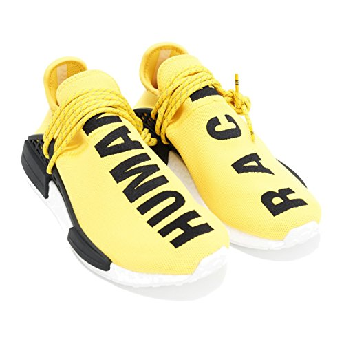 Human Shoes Race Yellow Fashion Sneaker Trail Human Breathable Casual Lightweight Men Race Women XqRPwwT