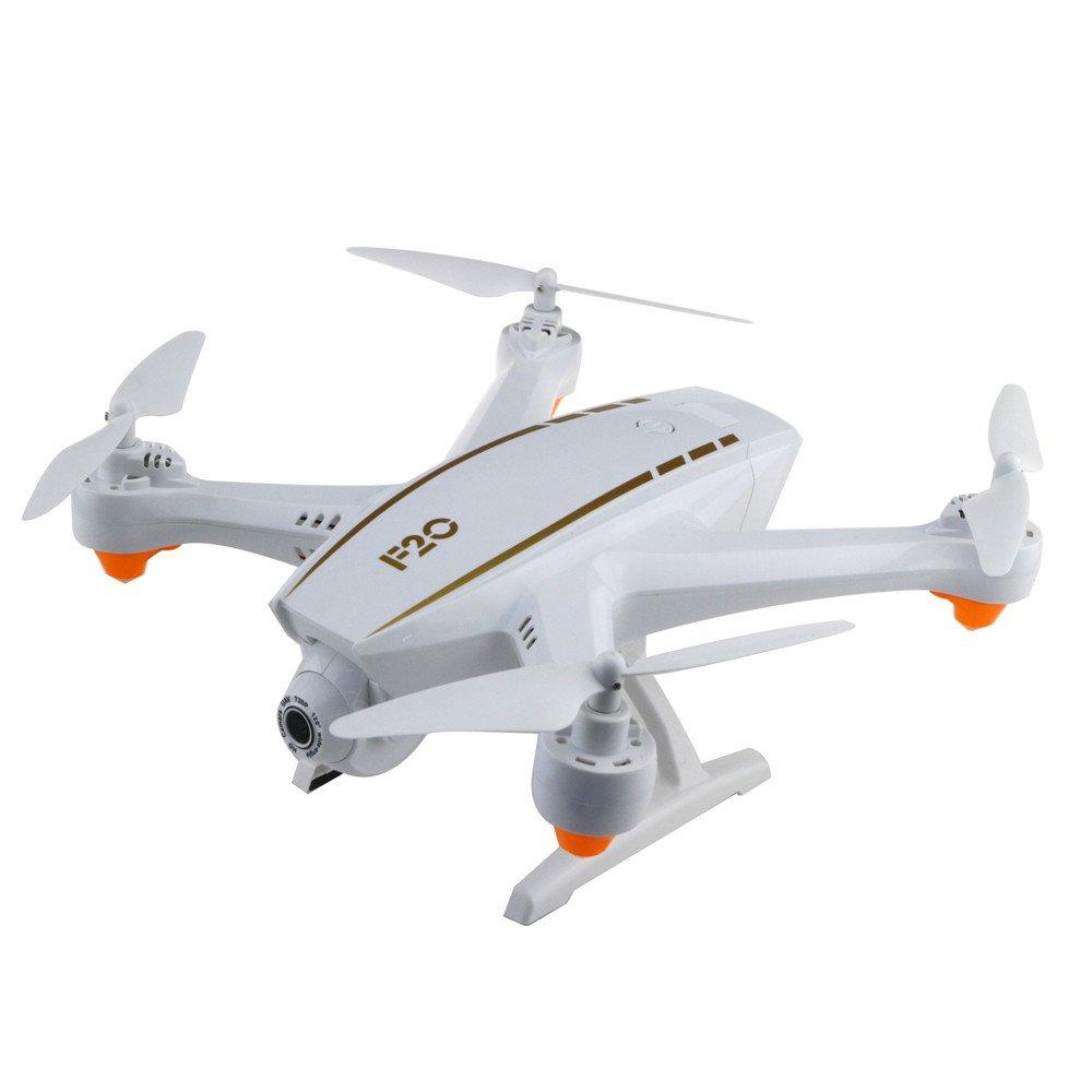 centro comercial de moda B B B Webla - F20 2.4G 4Ch Wifi 2.0Mp Flujo óptico Doble Gran Angular Cámara Drone Quadcopter Rc (blanco) (A)  connotación de lujo discreta