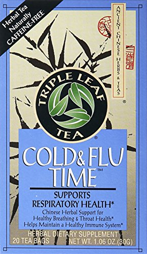 Triple Leaf Tea Cold & Flu Time