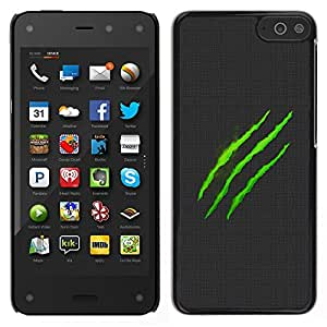LECELL--Funda protectora / Cubierta / Piel For Amazon Fire Phone -- Monster Logo --