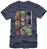 Super Mario- Retro Set T-Shirt Size L