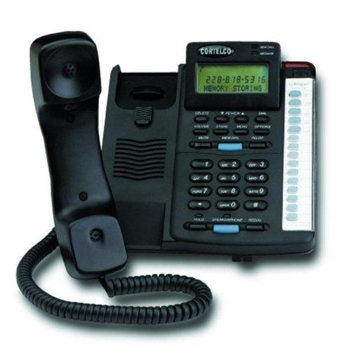 (Cortelco ITT-2200BK 220000-TP2-27E Colleague w/ CID BLACK)
