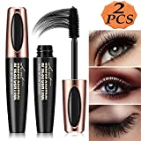Best 3D Fiber Lashes - 4D Silk Fiber Eyelash Mascara, Extra Long Lash Review