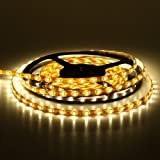 5m 24w 300 LED Strip Light Warm White 12v dc IP44 with 30w LED driver Kitchen cabinet lights by Leonlighting