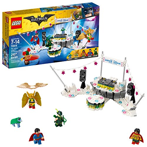 - LEGO BATMAN MOVIE DC The Justice League Anniversary Party 70919 Building Kit (267 Piece)