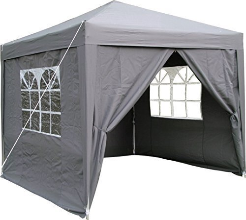 Airwave 25 X M Pop Up Garden Gazebo With 2 Wind Bars And