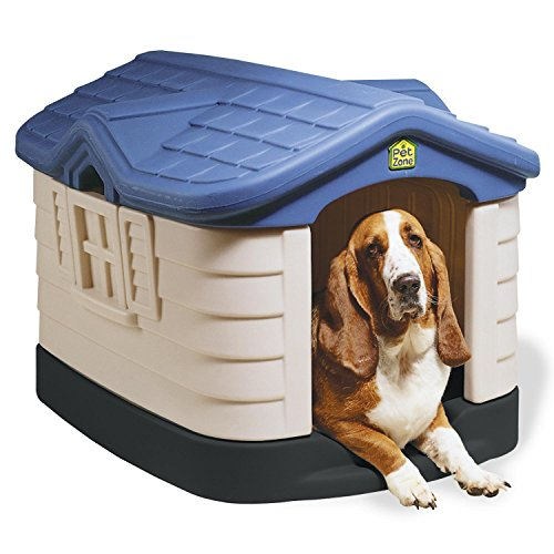 Our Pet's Cozy Cottage Dog House, Medium, Standard, Blue