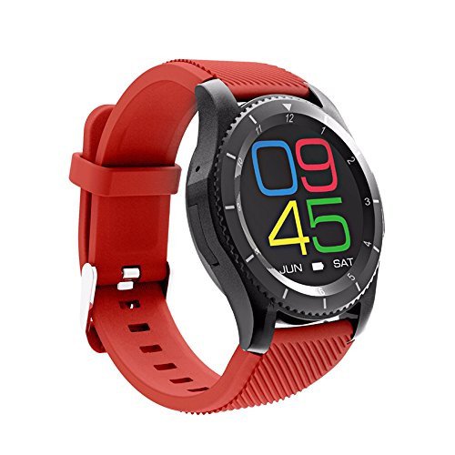 NO.1 G8 Phone Watch 1 IMEI Bluetooth 4.0 Sleep Monitor Pedometer APP Support: Amazon.es: Electrónica