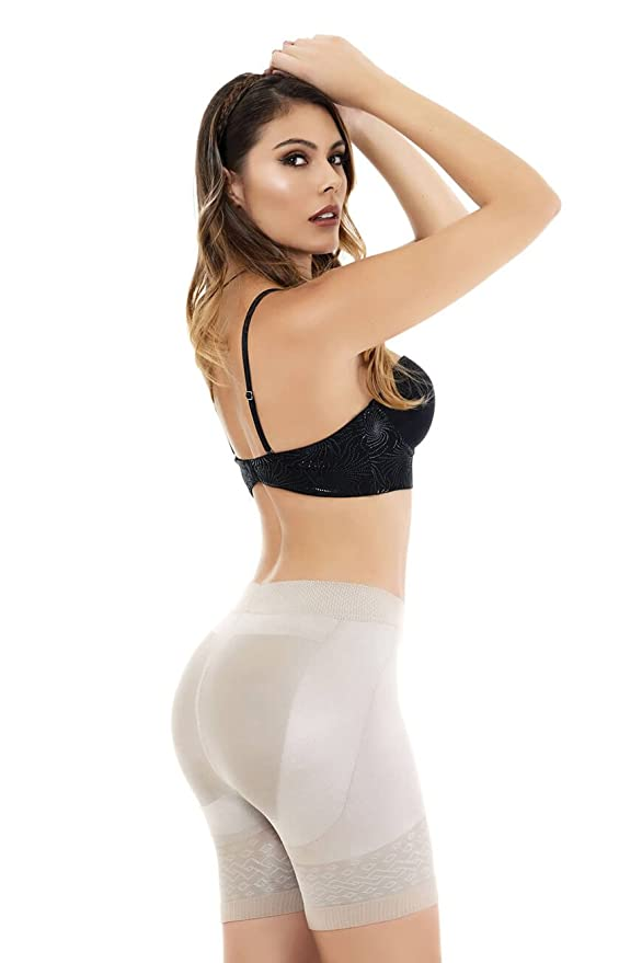 56f62f2d6a3 Cocoon Mid-Waist Long Leg Panty Girdle Style 1403 at Amazon Women s  Clothing store