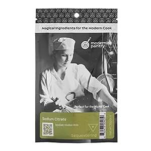 Food Grade Sodium Citrate (Molecular Gastronomy) ⊘ Non-GMO ❤ Gluten-Free ☮ Vegan ✡ OU Kosher Certified - 50g/2oz