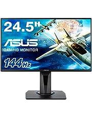 "ASUS VG258Q 24.5"" Full HD Gaming Monitor, 1ms, 144Hz, G-SYNC Compatible, Adaptive-Sync"